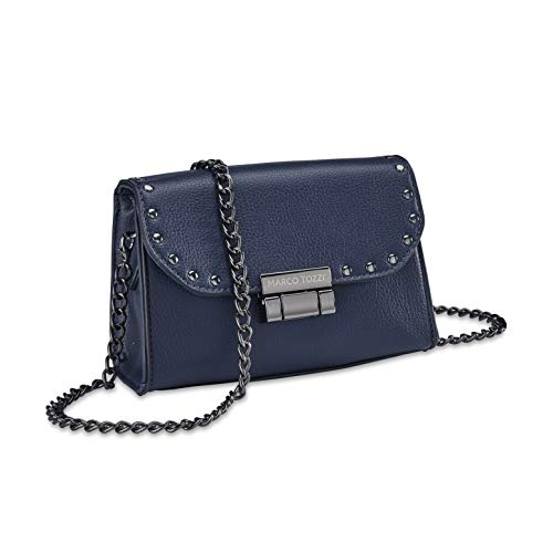 MARCO TOZZI Damen Handtasche 2-2-61012-25, Navy, 1 EU