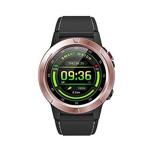 DHTOMC Reloj inteligente de los hombres 1.3 pulgadas IPS pantalla IP67 clase vida impermeable multi-deportes modo fitness pulsera inteligente-rosa