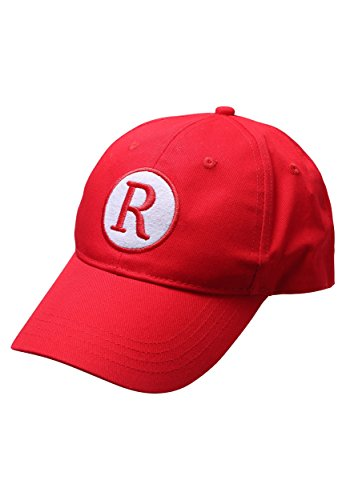 A League of Their Own Adult Baseball Movie Cap Play Ball Standard Red