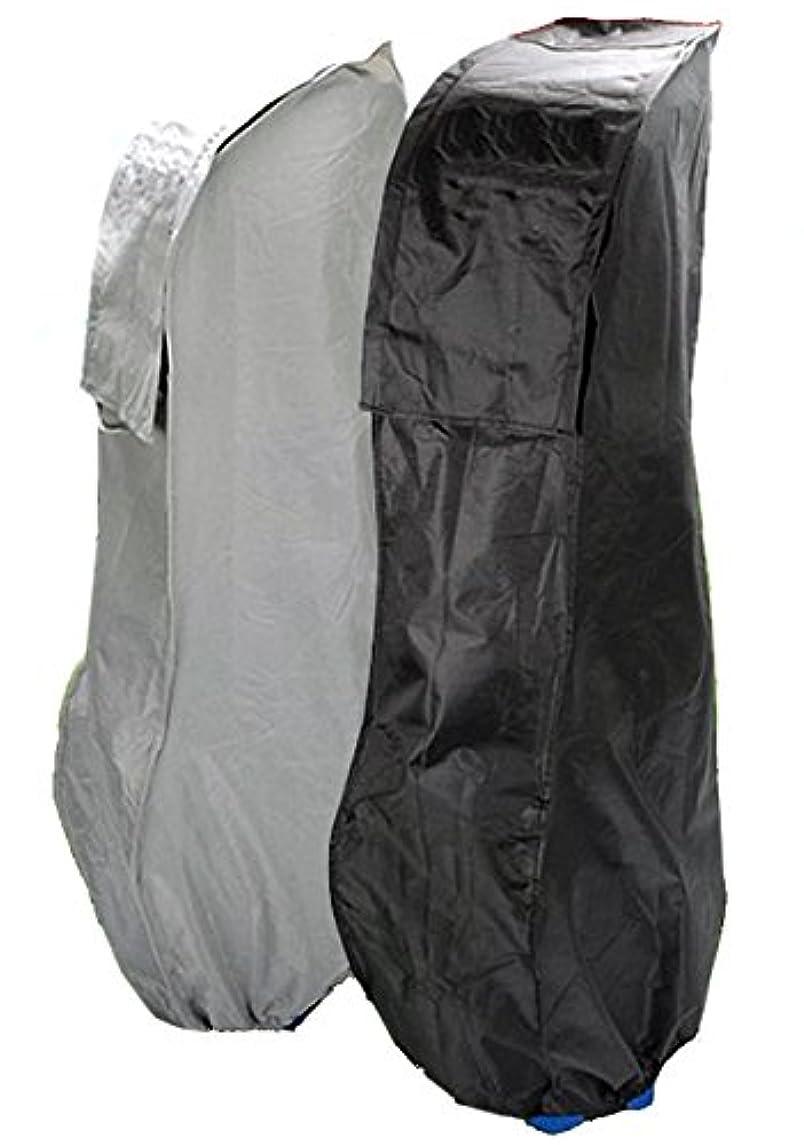 三番ウィスキーイタリアの雨 や 雪 から 守る ゴルフ バッグ 用 カバー 【ブラック】 収納 保管