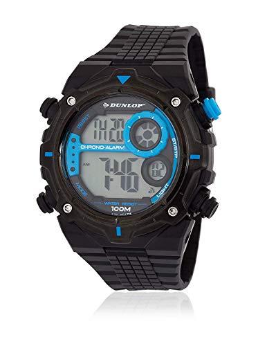 Dunlop Orologio Digitale Quarzo Unisex Adulto con Cinturino in Gomma DUN228G03