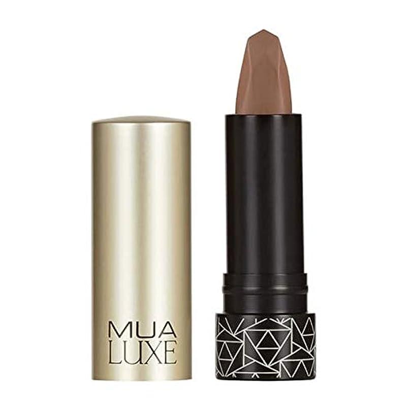 テントジョセフバンクス音節[MUA] Muaラックスベルベットマットリップスティック#6 - MUA Luxe Velvet Matte Lipstick #6 [並行輸入品]