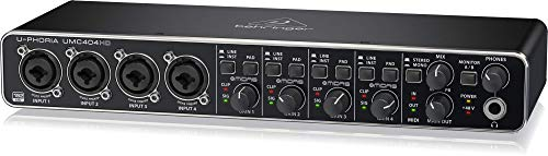 "Behringer UMC404HD U-Phoria USB Audio und""MIDI\"" Interface"