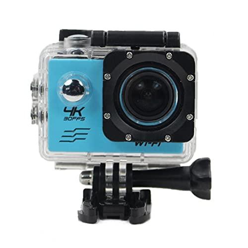 Deportes impermeables, cámara deportiva, cámara aérea de ultra alta definición 4K, cámara de deportes LCD WiFi 1080P con batería incorporada, cámaras digitales y accesorios