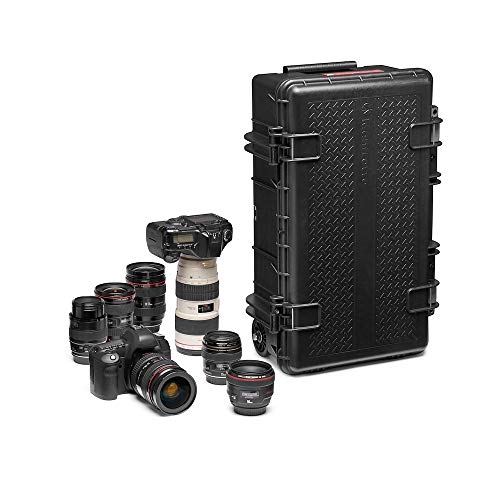 Manfrotto MB PL-RL-TL55 Reloader Tough L 55 Photography Roller Bag for DSLR, Reflex, CSC Premium Cameras, Trolley Holds up to 2 Cameras and Lenses, Camera Bag, Hand Luggage, for Photographers