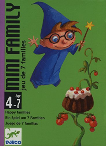 Djeco - Kartenspiele DJECOMini Family, Mehrfarbig (36)