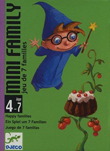Djeco Kartenspiele DJECOcartas Mini Family, Mehrfarbig, 36