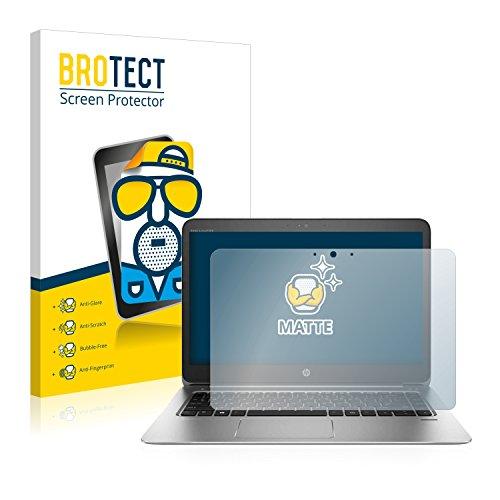 BROTECT Entspiegelungs-Schutzfolie kompatibel mit HP EliteBook Folio 1040 G3 Touch Bildschirmschutz-Folie Matt, Anti-Reflex, Anti-Fingerprint