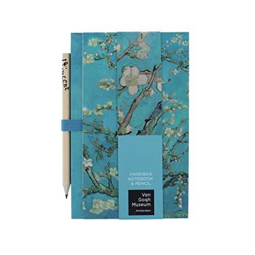 Van Gogh - Taccuino e matita a mano | Blocco note | Cancelleria | Diario per le donne | Quaderno | Stazionario | Mini taccuino | Regalo per lei