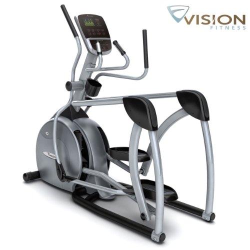 S60Vision Fitness Ellittica Cross Trainer–Costruito in finestra di visualizzazione