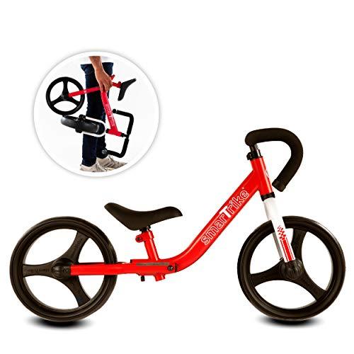 smarTrike-Folding Balance Bike Bicicleta de Equilibrio Plegable con Equipo de Seguridad para...