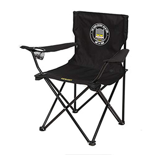 Silla de camping acolchada plegable para exteriores, ligera, portátil, para viajes, playa, picnic, con bolsa de transporte moderno Size 5