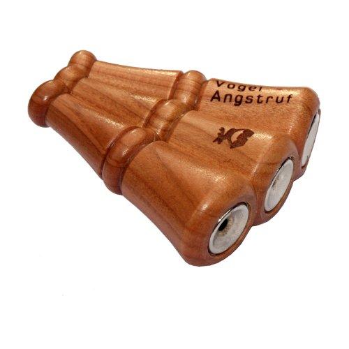 Weisskirchen Vogelangstruf dreistimmig, Wildlocker, Lockinstrument, geeignet für die Jagd oder Tierbeobachtung