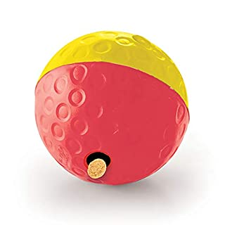 Nina Ottosson by Outward Hound Treat Tumble Red Interactive Treat-Dispensing Puzzle Dog Toy, Large (B0714JXCB9) | Amazon price tracker / tracking, Amazon price history charts, Amazon price watches, Amazon price drop alerts