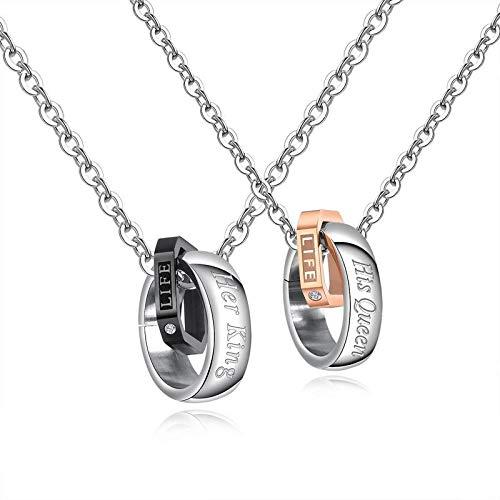 Pulseras y anillos para parejas