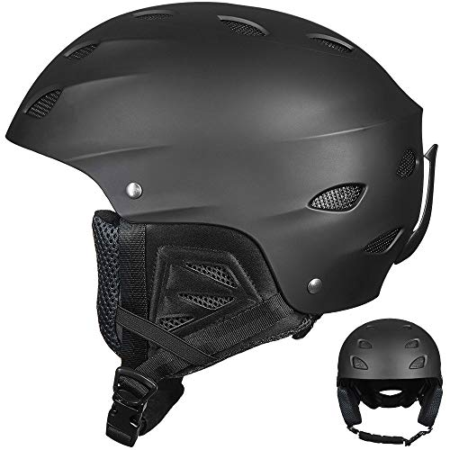 Auboa Ski Helmet,Snowboard Helmet Snow Sports Sled Skate Outdoor Recreation Gear for Men,Women & Youth