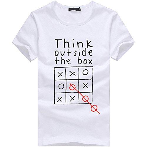 Herren T-Shirt Kurzarmshirt Top Print Shirt Casual Unisex 3D Druckten Sommer-beiläufige Kurze Hülsen-T-Shirts T-Stücke Herren T-Shirt Kurzarm Shirt Mit Print