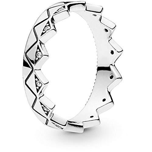 Pandora Anillo para mujer joyas medida 10 Trendy cód. 198033CZ-50