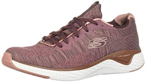 Skechers 13328/MVE Solar Fuse-Brisk Escape Damen Sneaker Altrosa, Größe:39, Farbe:Rosa