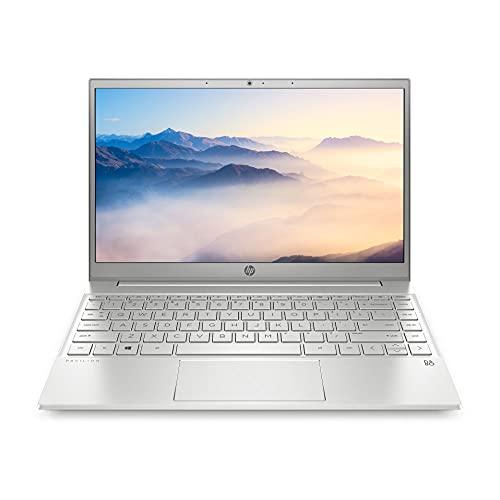 HP Pavilion 13-bb0300ng (13,3 Zoll / Full HD) Laptop (Intel Core i5-1135G7, 16GB DDR4 RAM, 1TB SSD, Intel Grafik, Windows 10) silber, Fingerabdrucksensor