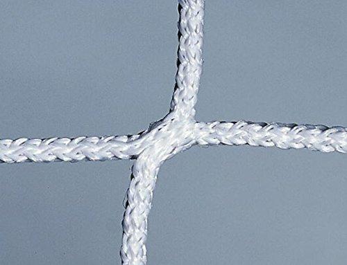 Fußballtornetz für Fußballtore der Größe 3,7 x 1,8m , 2mm stark, weiss von POWERSHOT