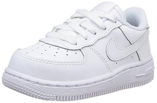 Nike Baby Jungen Force 1 (TD) Sneaker, Weiß (White/White-White 117), 19.5 EU