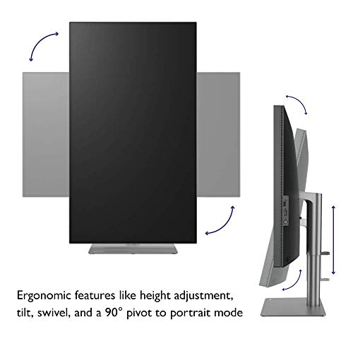 BenQ PD3220U 32 inch 4K Monitor IPS, HDR, AQCOLOR, Display P3, DCI-P3, sRGB, Rec.709,...
