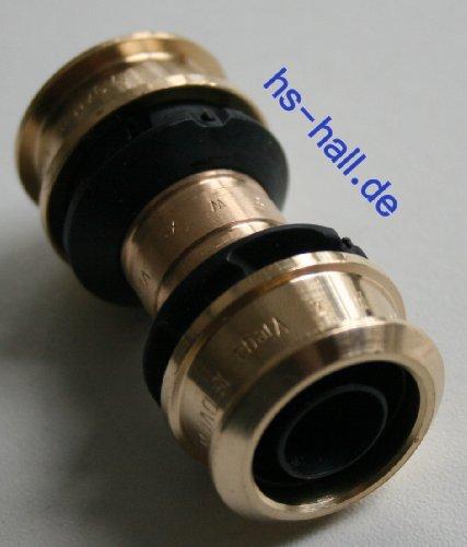 Viega Raxofix Kupplung Muffe 16 mm Pressfitting