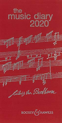 Agenda musical 2020, color rojo
