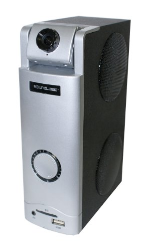 For Sale! Sound Logic 3 in 1 Webcam Desktop Speaker - Great for Skype (72-31202)