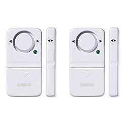 SABRE Wireless Home Security Door Window Burglar Alarm with LOUD...