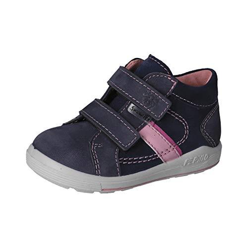 RICOSTA Kinder Boots LAIF von Pepino, Weite: Mittel (WMS),lose Einlage,Booties,wasserdicht,Kinderschuhe,Kids,Nautic/Rose (183),29 EU / 11 Child UK