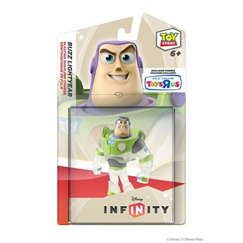 Disney Infinity Exclusive Game Figure CRYSTAL Buzz Lightyear [Translucent]