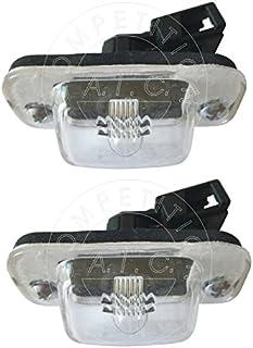 AIC Quality Set 2 x Kennzeichenbeleuchtung Nummernschildbeleuchtung Kennzeichenleuchte Leuchte KOMPLETT mit Schrauben Glühlampe und Dichtung passend für 1H1 1E7