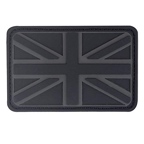 Britse Unie Jack PVC Rubber patch Engeland Vlag Verenigd Koninkrijk Groot-Brittannië Tactische 3D Moraal Applique Armband Embleem