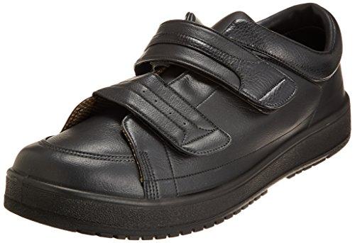 [ムーンスター] メンズ リハビリ 介護靴 Vステップ04 (両足同サイズ) 0088as ブラック 30.0 cm 3E