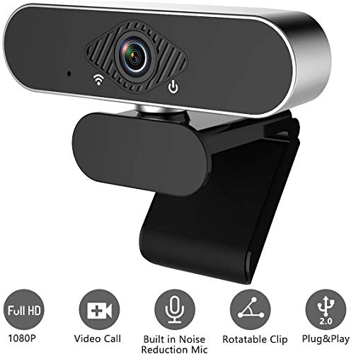 PLX Webcam with Microphone, 1080...