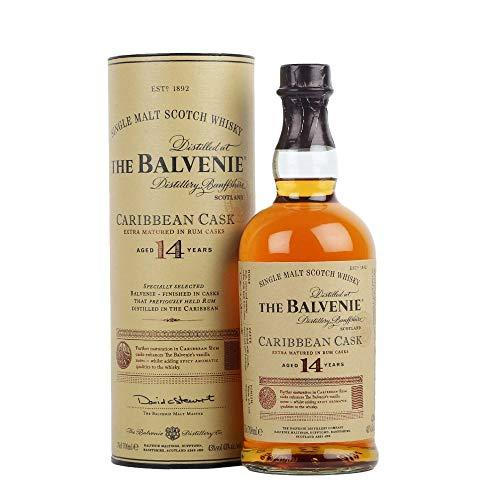 The Balvenie Single Malt 14 Years Old Caribbean Cask 43% - 70cl Astucciato