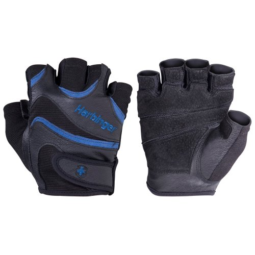 Harbinger FlexFit Weight Lifting Gloves for Men (Small)