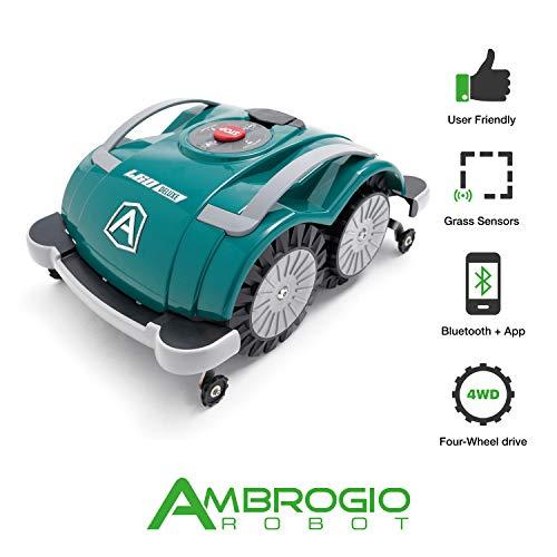 Ambrogio Mähroboter | Modell : L60 Deluxe | Einfach zu bedienen, ohne Installation und ohne...