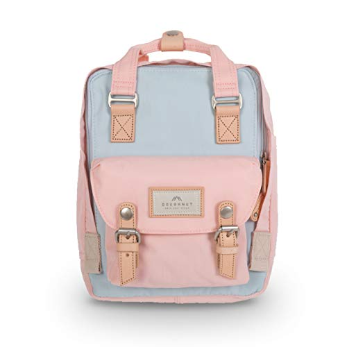 Doughnut Macaroon Mini Cream Iceberg Sakura Unicorn Dream 7L Travel School Ladies College Girls Lightweight Casual Daypacks Bag Small Backpack (Iceberg X Sakura)