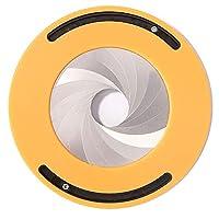wulide 定規 円描画ツール 円形描画定規 曲線描画 定規 回転可能 多機能 ポータブル 円を描く用具 描画ツール 製図 図面 測定 作業工具 文房具 木工機械 家庭用品