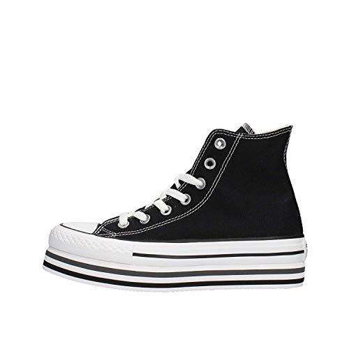 Converse - Ctas Lift Ox Hi 564486C Black, Taglia:38 EU