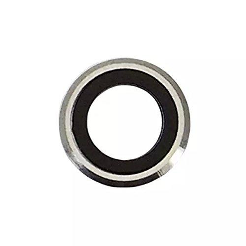 Goliton Nuovo obiettivo posteriore Fotocamera posteriore di vetro della parte dell'obiettivo Cornice di ricambio per iPhone 6 4.7 pollici - Argento