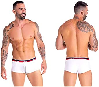 JOR Boxer Calzoncillos Trunks Ropa interior - Blanco - Large
