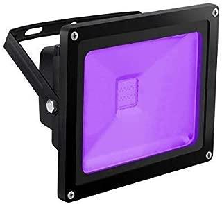 UV Light Black Light, HouLight High Power 20W Ultra Violet UV LED Flood Light IP65-Waterproof (85V-265V AC) for Halloween, Blacklight Party, Neon Glow, Glow in the Dark, Birthdays, Blacklights, Curing