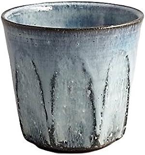 ビアカップ 焼酎グラス 釉薬と陶土を吟味 話題の 有田焼 アースブルー ロックカップ