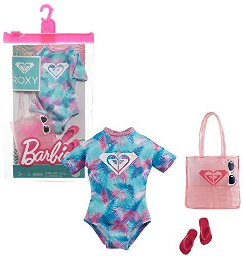 Barbie Roxy GRD41 - Conjunto de ropa para la playa