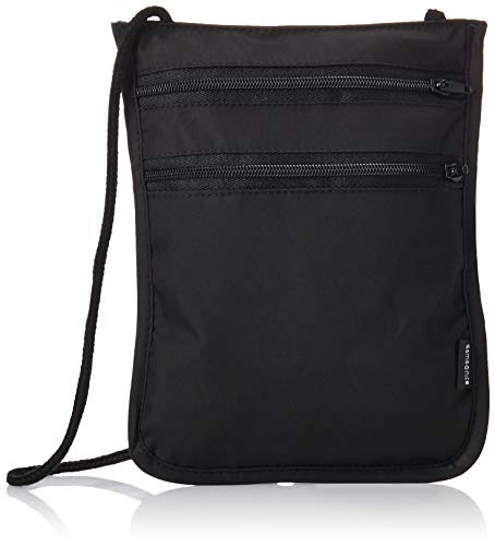 Samsonite RFID Security Neck Pouch, Black, One Size