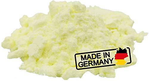 Best-Seller: 1000g Schwefel Pharma (anorganischer Schwefel, feines Pulver, beste Qualität am Markt mit 99,95%, gereinigt, säurearm, ohne Zusatzstoffe * Sulfur, Pharma Herst.) * Deutsche Qualität